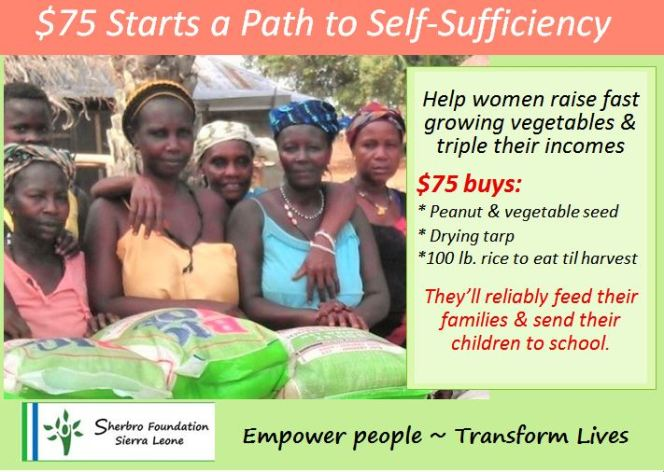 Giving Tues – Put a Woman on Path to Self Sufficiency