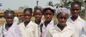 Walter Schutz Secondary School students