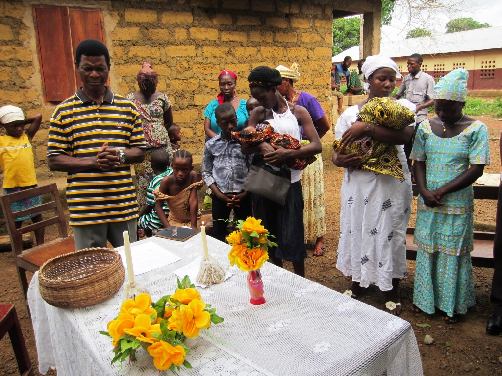 Growing A Baby S Future In Sierra Leone The Newborn Baby