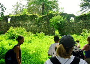 Bunce Is. slave fort ruins