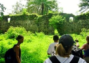 Bunce Is. slave fort ruins