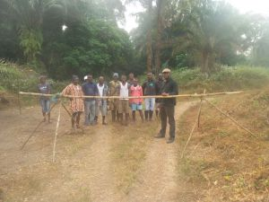 Opening new check point between Bumpeh & Ribbi chiefdoms
