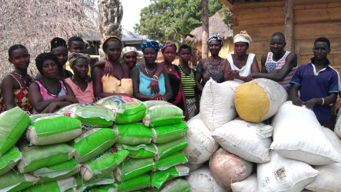 Empowering Women Post-Ebola – the Vegetable Growing Project