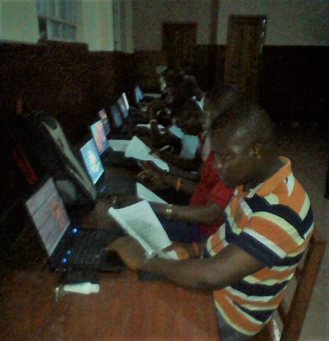 First Computer Training Class Starts – Finally Joining the 21stCentury