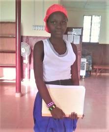 Alima Kanu JSS3 tutoring student (2)