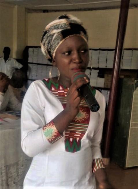 Aminata Kamara 1st college scholarship (4)