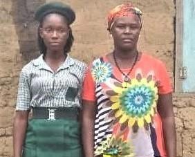 Salamatu Conteh BASS JSS3 Aunt orphan Siama Rd 3 (5)
